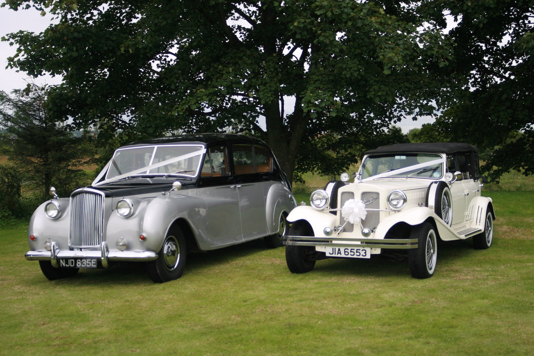 DJ Classic wedding car hire
