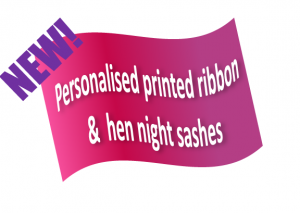 Peronalised printed ribbons